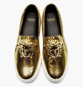 gianni-versae-sneakers-golden