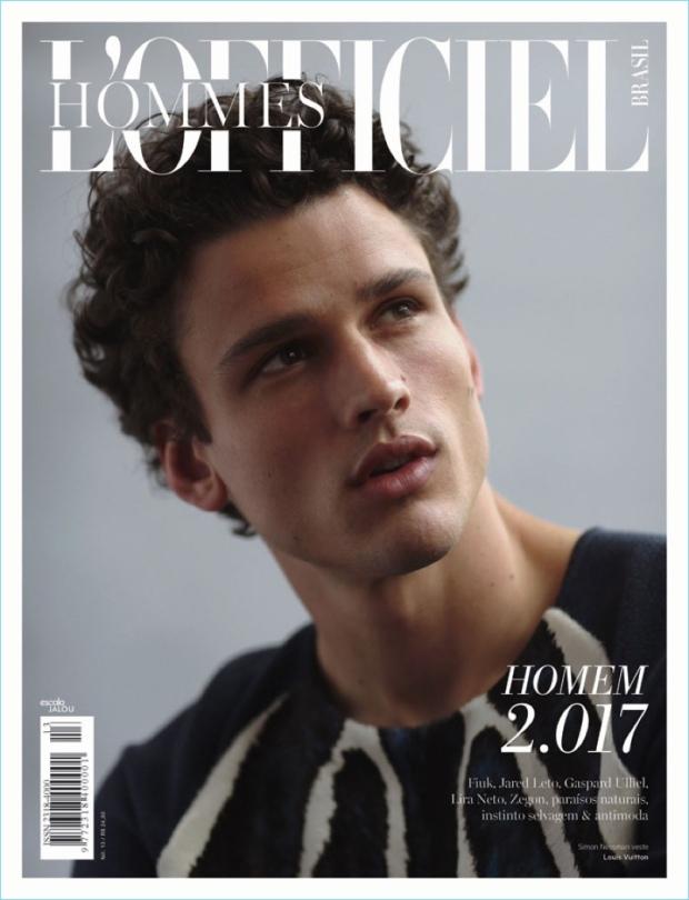 Simon-Nessman-2017-LOfficiel-Hommes-Brasil-Cover