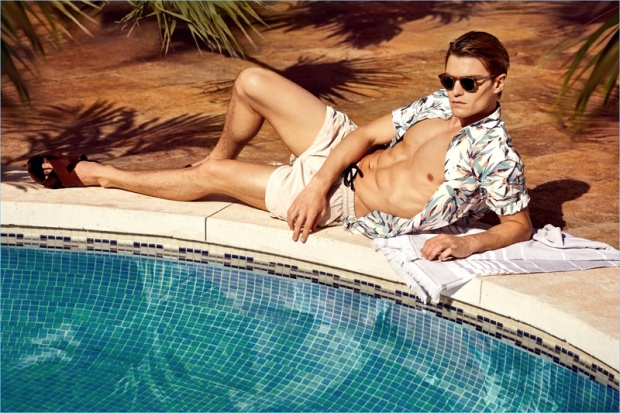 Oliver-Cheshire-2017-Nly-Man-Summer-Campaign-Relaxing-Poolside